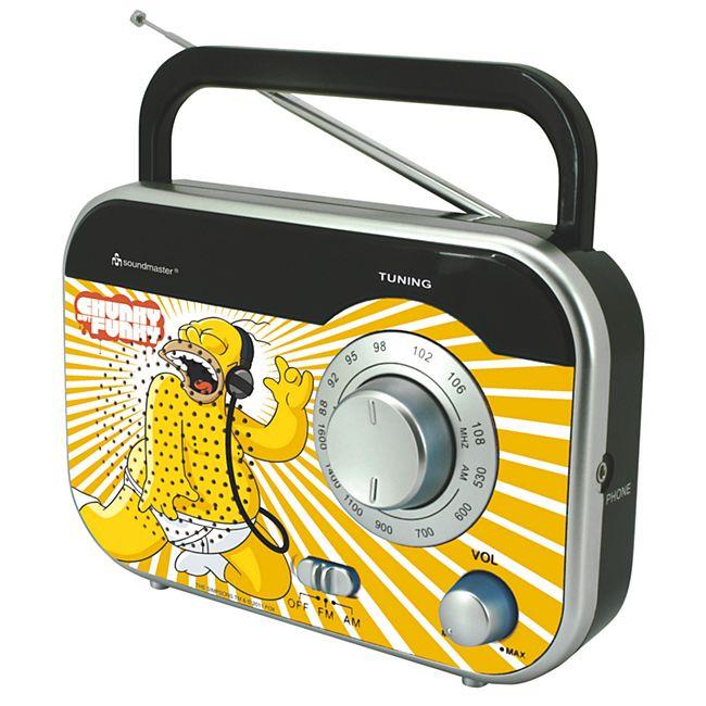 Soundmaster TR410DS - tragbares MW / UKW Radio - Bild 1
