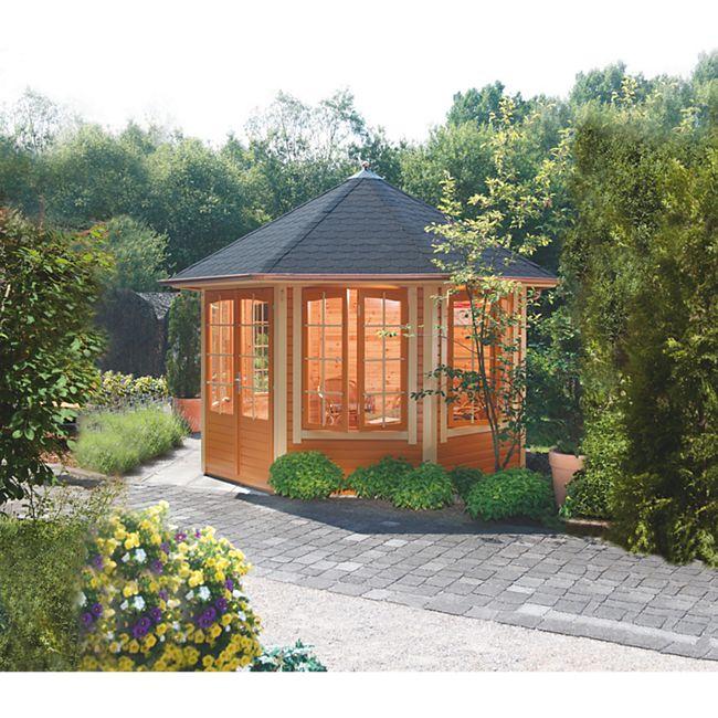 Wolff Finnhaus Gartenhaus Ibiza 42-A - Bild 1