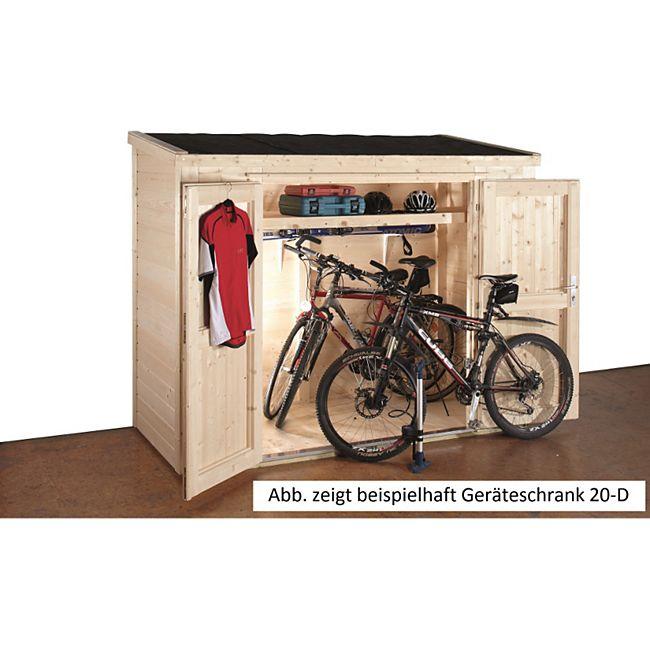 Wolff Finnhaus Geräteschrank 20-B - Bild 1
