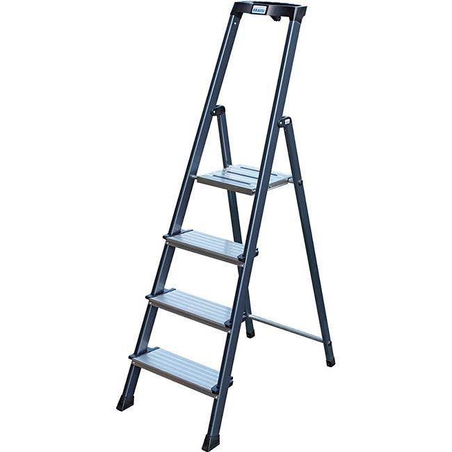 """Krause """"Securo"""" Stufen-Stehleiter, 4 Stufen - Bild 1"""