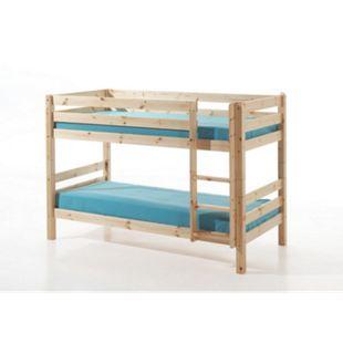 Vipack Furniture Etagen-Hochbett Pino 140 cm, natur - Bild 1