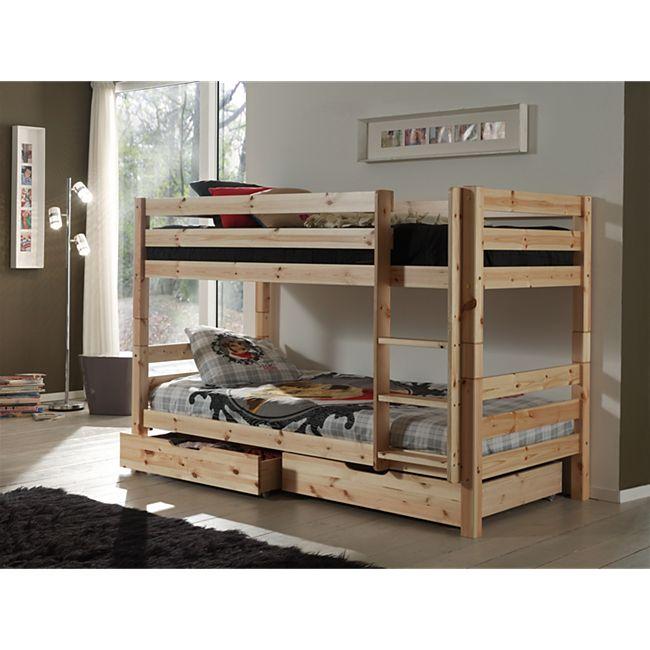 Vipack Furniture Etagenbett Pino, natur - Bild 1