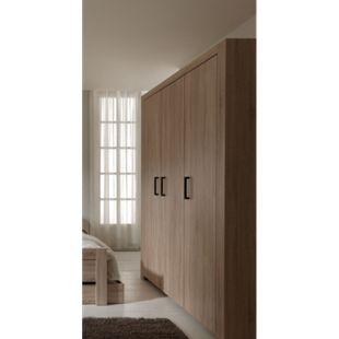 Vipack Kleiderschrank 3-trg. Aline Sonoma Eiche Dekor hell - Bild 1