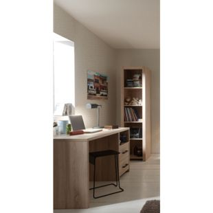 Vipack Set Aline best. aus Schreibtisch und Regal Sonoma Eiche Dekor hell - Bild 1