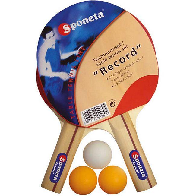 Sponeta Tischtennis-Set Record - Bild 1