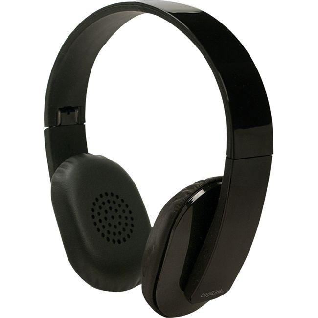 logilink bt0030 bluetooth stereo headset mit mikrofon. Black Bedroom Furniture Sets. Home Design Ideas