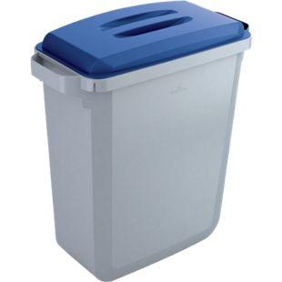Abfallbehälter-Set DURABIN 60 Liter, grau/blau - Bild 1