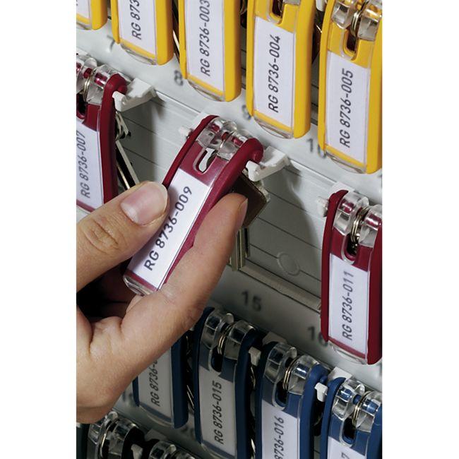 Schlüsselanhänger KEY CLIP für KEY BOX, rot - Bild 1