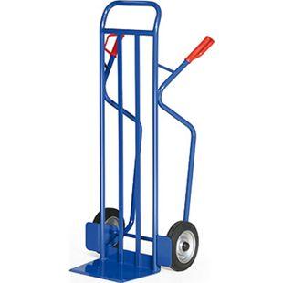 Protaurus Stahlrohr-Stapelkarre für Lasten bis 350 kg - Gummibereifung - Bild 1