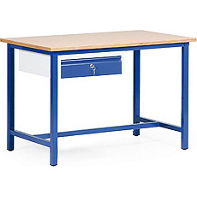 Protaurus Arbeitstisch mit 1 Schublade, 120 × 70 cm - Bild 1