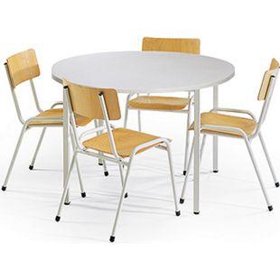 Protaurus Tisch-Stuhl-Kombination, Vierer-Kombination - Bild 1
