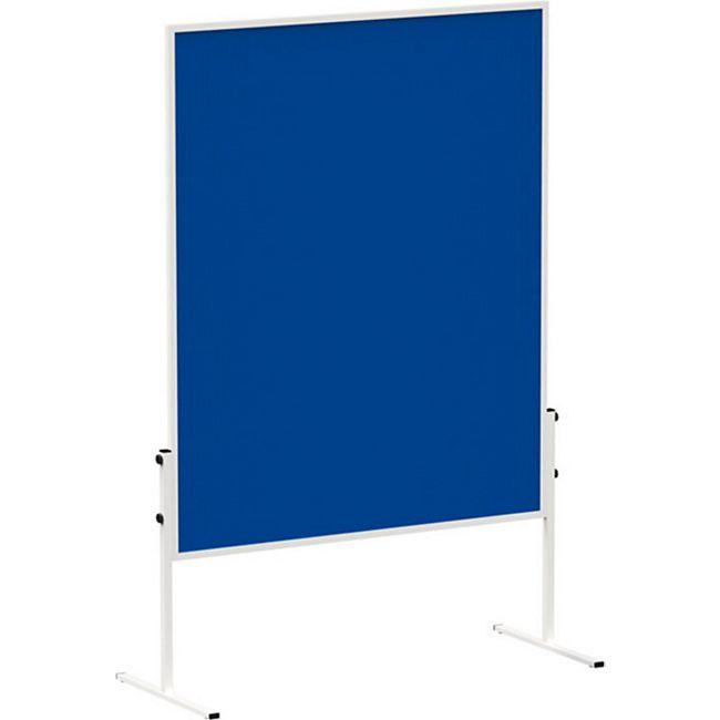 MAUL Moderationstafel MAULsolid - Filz blau - Bild 1