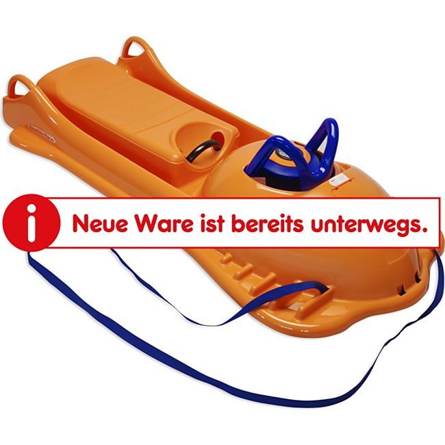 KHW Schlitten Mountain Racer Orange - Bild 1