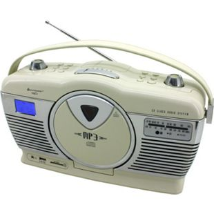 Soundmaster RCD1350BE Retro CD/MP3/USB Radio in beige - Bild 1