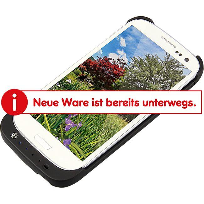 LogiLink PA0071 Schutzhülle für Samsung Galaxy S3 mit integriertem 3200 mAh Akku - Bild 1