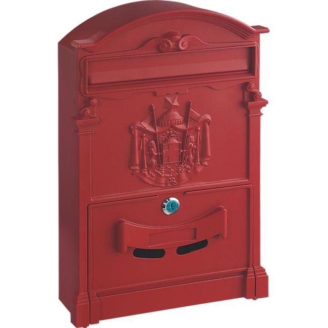 Rottner Ashford Briefkasten rot - Bild 1