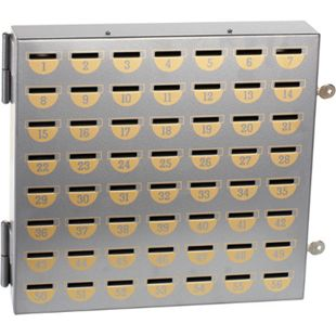 Rottner Sparvereinsschrank 25 Fächer mit Nummern - Bild 1