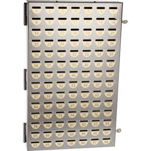 Rottner Sparvereinsschrank 98 Fächer ohne Nummern - Bild 1
