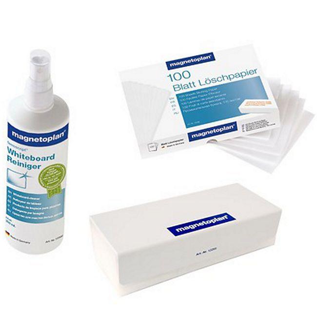 magnetoplan Reinigungsset für weiße Schreibtafeln - Bild 1