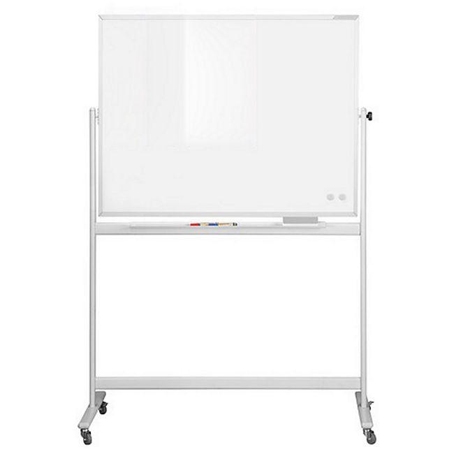 magnetoplan Design-Whiteboard CC, mobil - 1200 x 900 mm - Bild 1