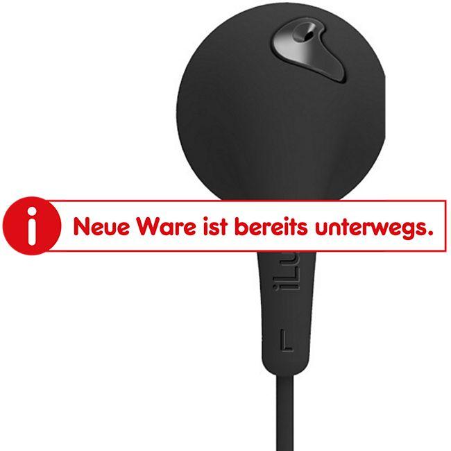 iLuv Bubble Gum Talk In Ear Kopfhörer mit Mikrofon und Bedienelement - schwarz - Bild 1