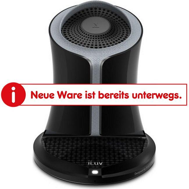 iLuv Syren Bluetooth Lautsprecher in extravagantem Design mit 360 Grad Sound - schwarz - Bild 1
