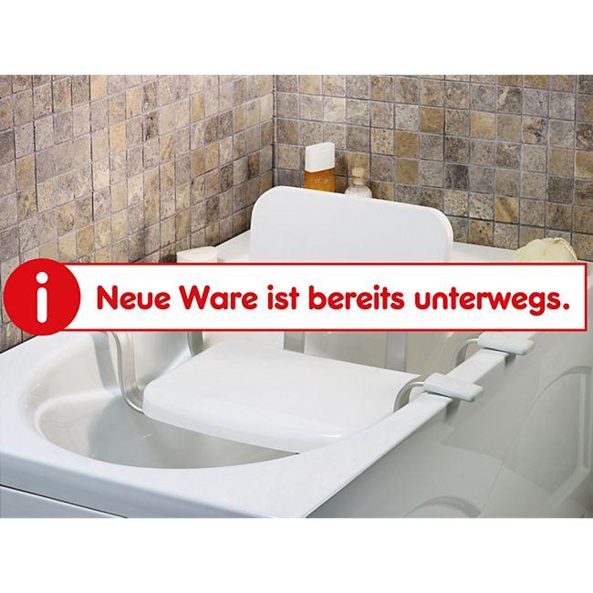 Weinberger Badewannensitz mit Rückenlehne - Bild 1