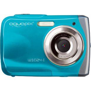 Aquapix W1024-I Splash Unterwasserkamera - eisblau - Bild 1