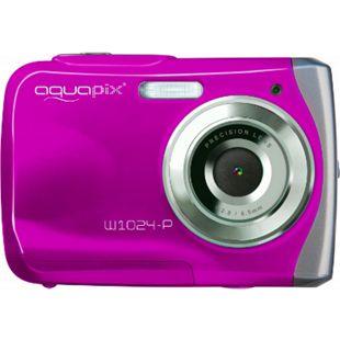 Aquapix W1024-P Splash Unterwasserkamera - pink - Bild 1