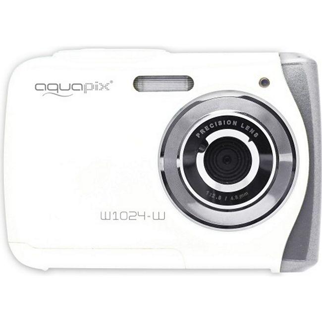 Aquapix W1024-R Splash Unterwasserkamera - weiß - Bild 1