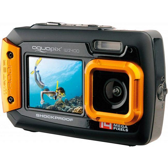 Aquapix W1400 Active Unterwasserkamera - orange - Bild 1