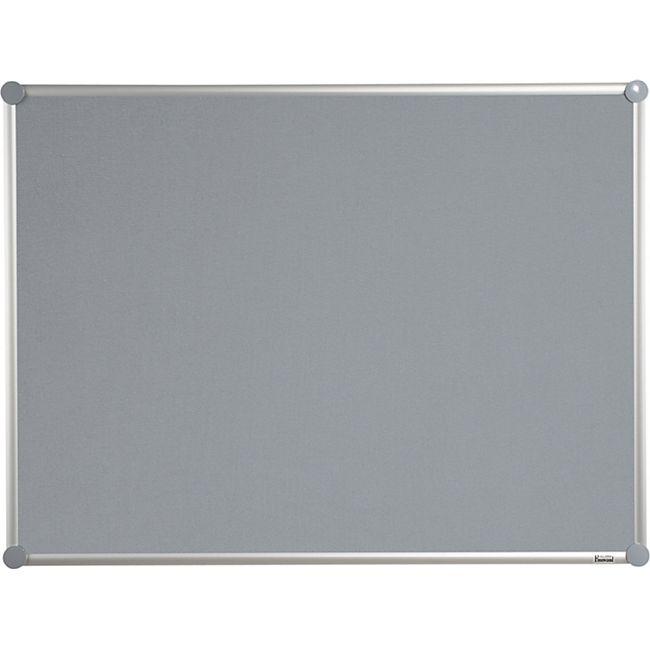 MAUL Pinnboard 2000 MAULpro, Textil - 60 x 90 cm, grau - Bild 1