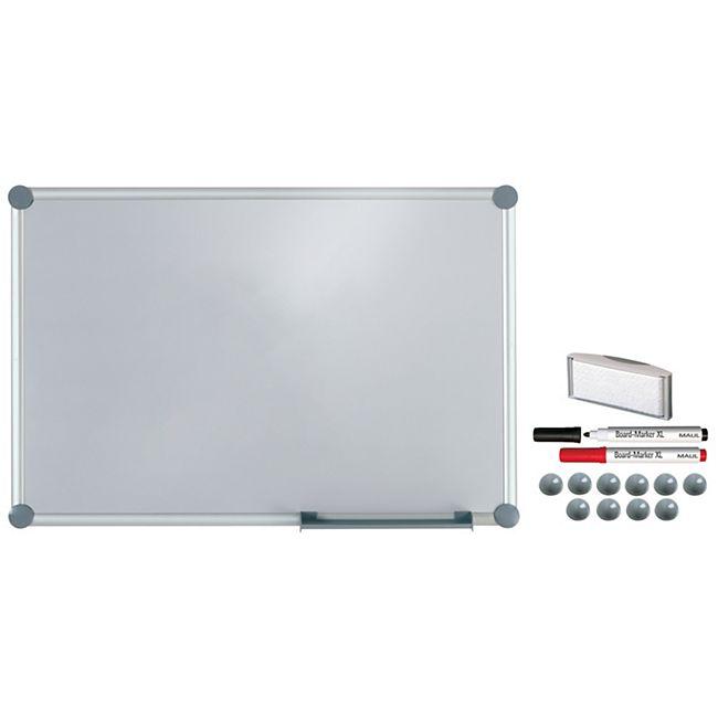 MAUL Whiteboard 2000 MAULpro, Komplett-Set silver - 60 x 90 cm - Bild 1