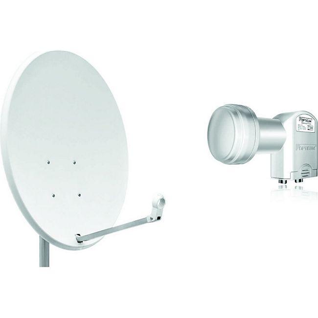 opticum x80 satellitensch ssel antenne 80 cm mit twin lnb online kaufen netto