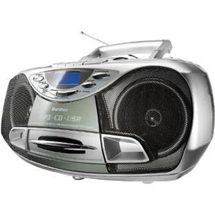 Karcher RR510N tragbares Stereo-CD-Radio - silber - Bild 1