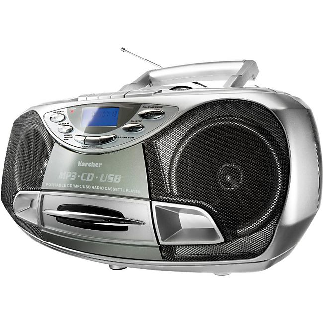 Karcher RR510N tragbares Stereo-CD-Radio - silber online ...