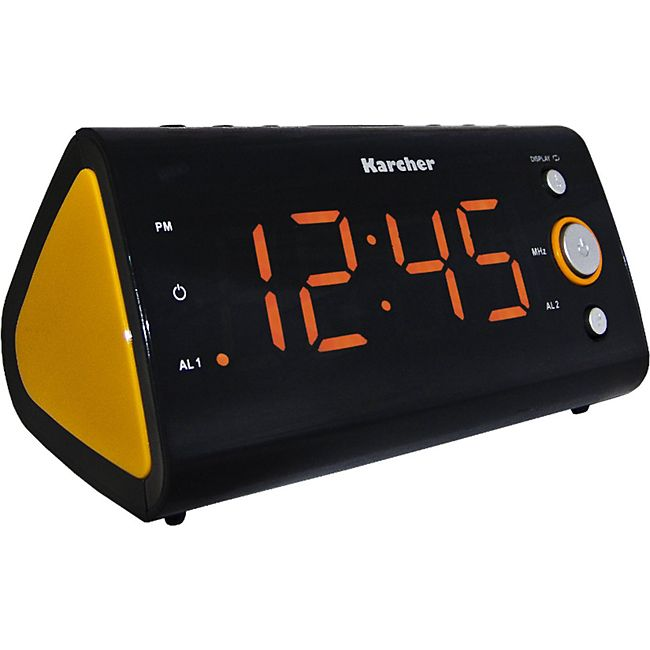 Karcher UR1040-O Uhrenradio - orange - Bild 1