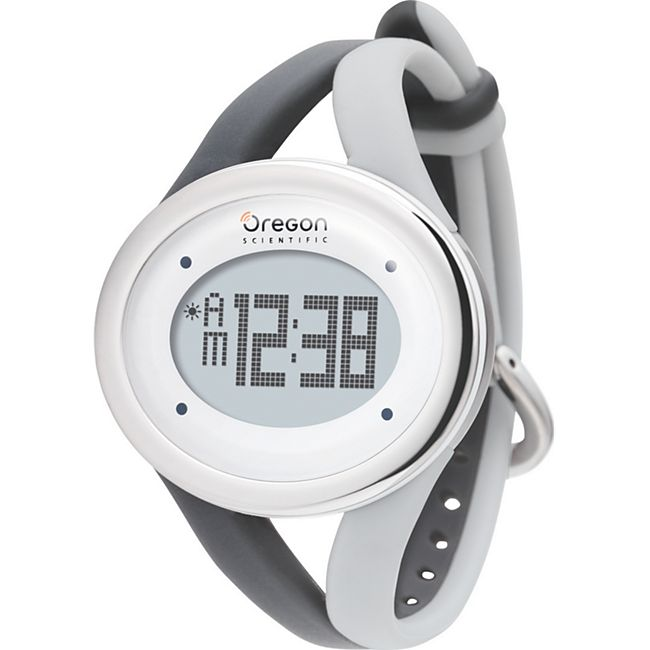 Oregon Scientific SE336 Sport-Uhr in grau - Bild 1