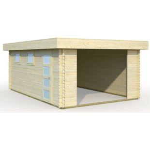 Palmako Rasmus 19,0 m² kit Garage - Bild 1