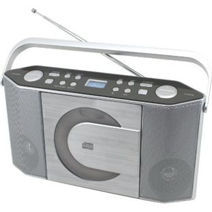 Soundmaster RCD1750SI Stereo UKW/CD PLL-Kofferradio mit MP3-CD - Bild 1