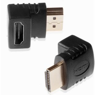 Poppstar HDMI Winkeladapter - Bild 1