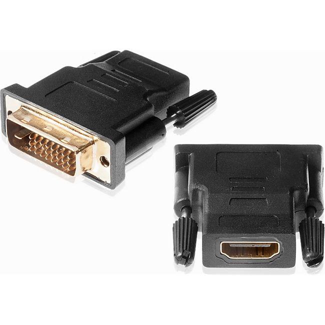 Poppstar HDMI auf DVI Adapter - Bild 1