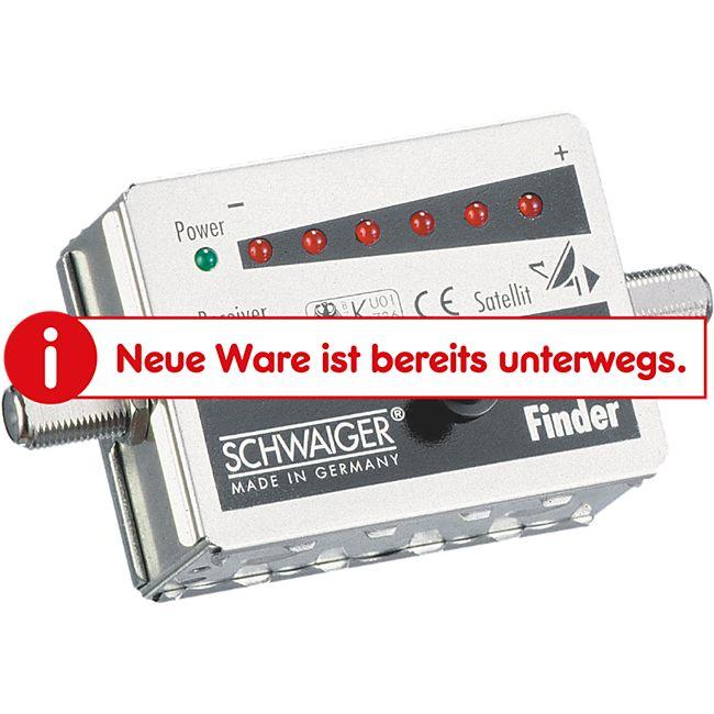 Schwaiger SF70 531 - SAT-Finder, 7 LED - Bild 1