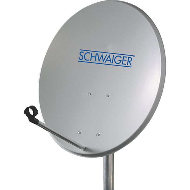 Schwaiger SPI550 011 - SAT Offset Stahlspiegel, 55 cm, oval - Bild 1
