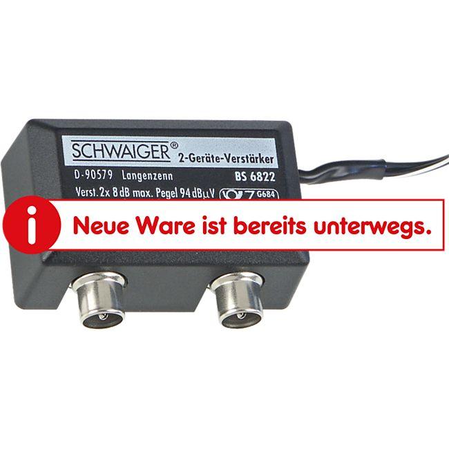 Schwaiger BS 6822  - 2-Geräte-Verstärker, 8 dB - Bild 1