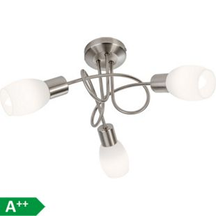 Nino Leuchten LED-Deckenleuchte Lolly, 3-flammig Ø 27cm - Bild 1