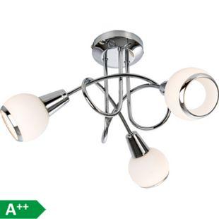 Nino Leuchten LED-Deckenleuchte Loris, 3-flammig Ø 40cm - Bild 1