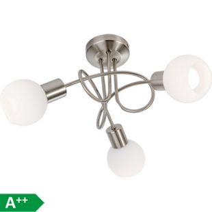 Nino Leuchten LED-Deckenleuchte Loxy, 3-flammig - Bild 1