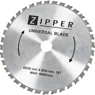 Zipper KSB25030Z36 Multicut Sägeblatt für KGS250-310 - Bild 1