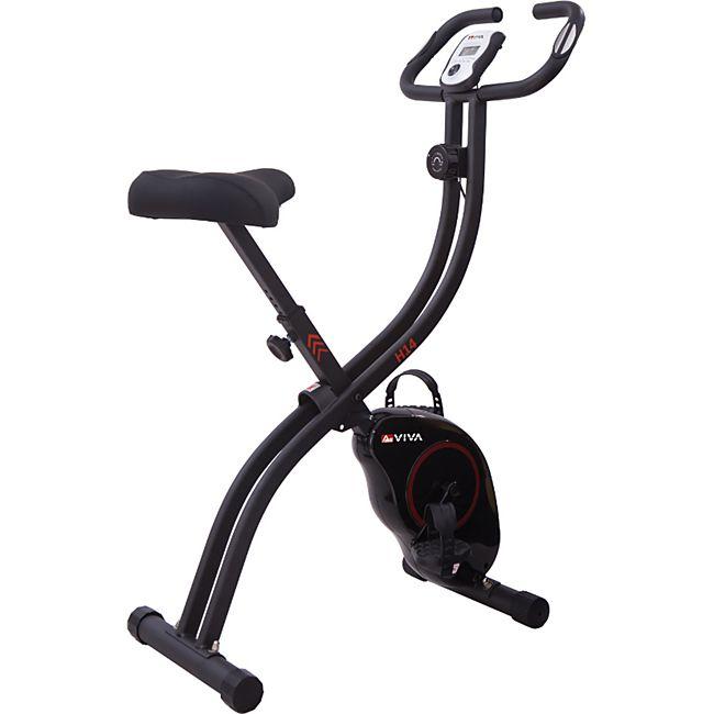 AsVIVA Sport Heimtrainer H14 Fitness-Fahrrad black - Bild 1